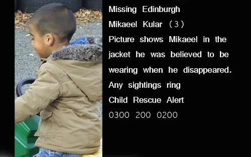 Mikaeel Kular, Child Rescue Alert