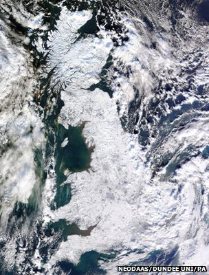 Britain in the winter of 2010-2011