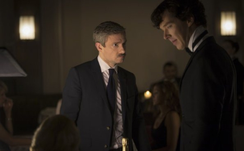 Sherlock Holmes, John Watson, and the Moustache