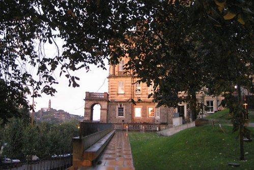 Bank of Scotland on Bank Street, Edinburgh
