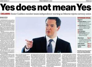George Osborne Yes Doesnt Mean Yes