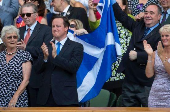 Salmond, Saltire, Cameron