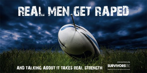 Survivors: Real Men Get Raped