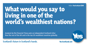 yes scotland wealthiest nation