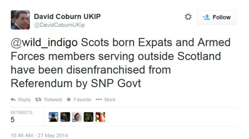 David Coburn indyref