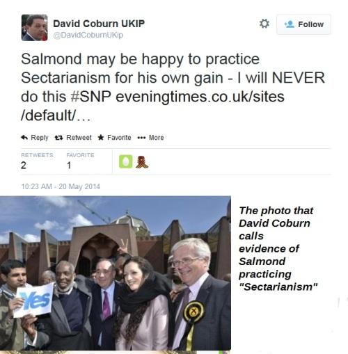 David Coburn - sectarian