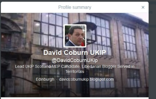 David Coburn's Twitter Profile