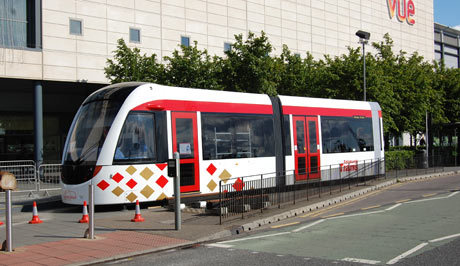 The closest any trams will get to Leith