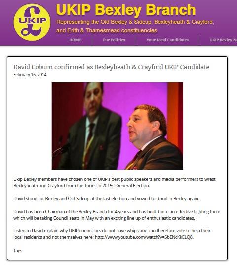 David Coburn - UKIP Bexley