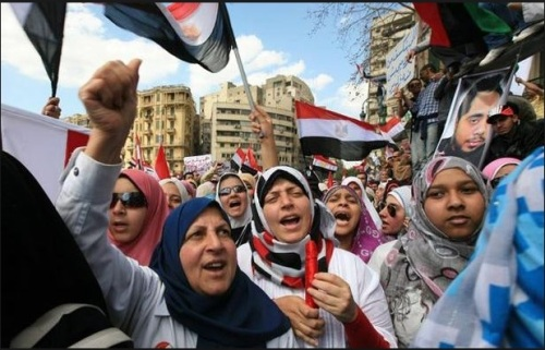 Egyptians Arab Spring