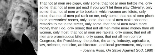 Joanna Russ: Not All Men