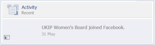 UKIP Women's Board appeared on 31st May 2014