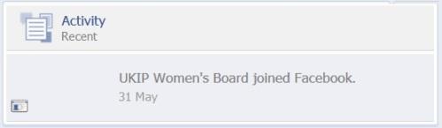 UKIP Women's Board appeared on 31st May 2014
