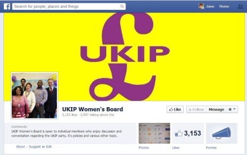 UKIP Women's Board