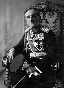 Crown Prince Alexander, later King of Yugoslavia