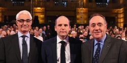 Alex Salmond, Glenn Campbell, Alastair Darling, ScotDecides / BBCindyref