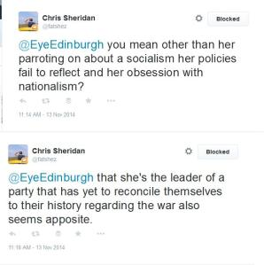 Scottish Labour supporter explains why Nicola Sturgeon is like Hitler and the SNP are like the Nazis