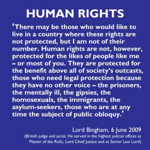 Lord Bingham, June 2009