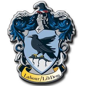 Labour LibDem Coalition Ravenclaw
