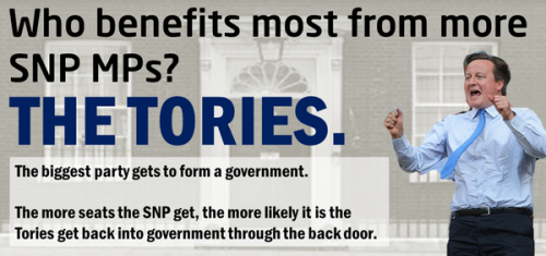 Vote SNP Get Tories