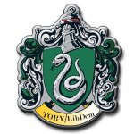 LibDem Tory coalition - Slytherin