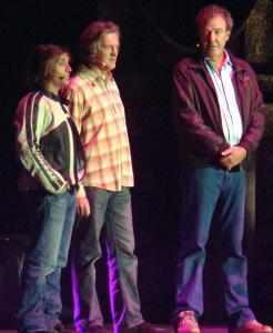 Philip Hammond, Brian May, Jeremy Clarkson