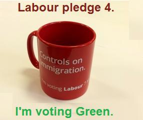 Labour's anti immigration mug