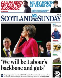 We will be Labour's backbone and guts