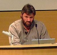 Steve Bell at Dundee University in 2007