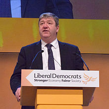 Alistair Carmichael at Glasgow 2014 libdem conference