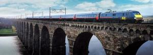 GNER Intercity train at Berwick upon Tweed
