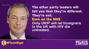 Farage on AIDS