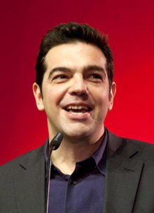 Alexis Tsipras - not wearing a tie