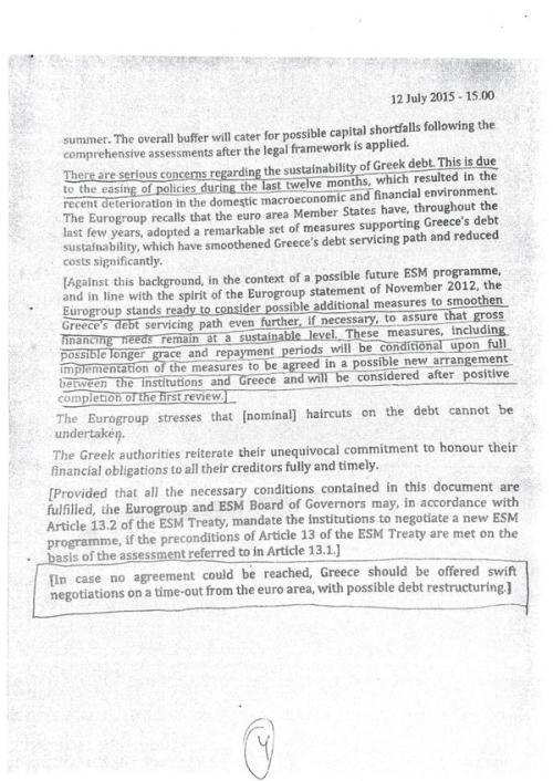 Eurogroup demand of Greece page 5