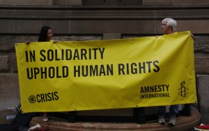Amnesty International: In Solidarity, Uphold Human Rights