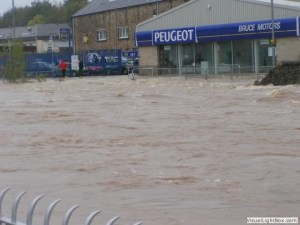 Hawick Flood October 2005