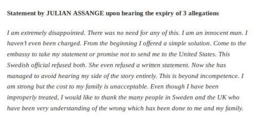 Julian Assange Chutzpah