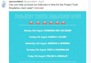 Spuc Scotland Project Truth