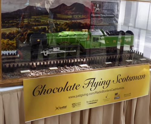 The Chocolate Flying Scotsman