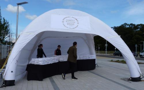 Tweedbank Tent