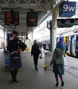 At Waverley - Borders train