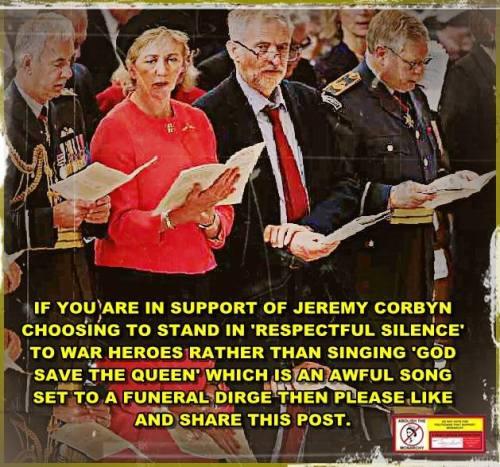 Jeremy Corbyn at St Paul's