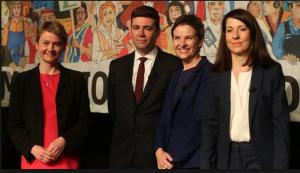 Labour Leadership pre-Corbyn: Creagh, Burnham, Cooper, and Kendall