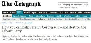 Telegraph Politics: How you can help Corbyn win