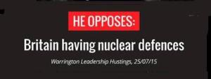 PRoject Islington: the nuclear weapons smear