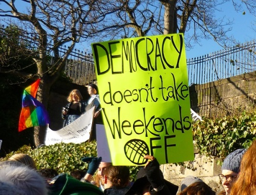 Democracy Doesnt Take Weekends Off
