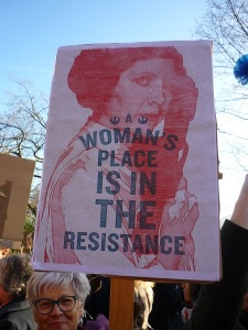 General Leia Organa - A woman's place is in the Resistance