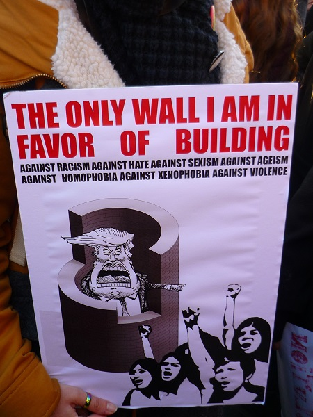 The Only Wall I Am In Favour Of Building