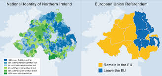 Northern Ireland - national identity and Brexit vote