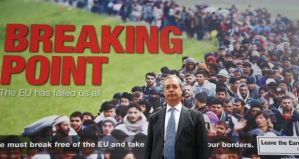 Farage Breaking Point poster